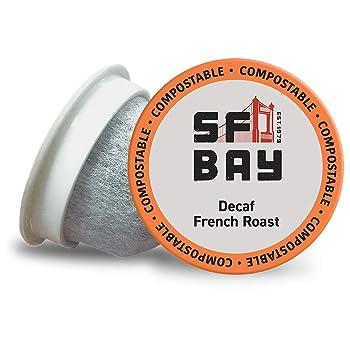 San Francisco Bay Coffee French Roast Decaf K-Cups
