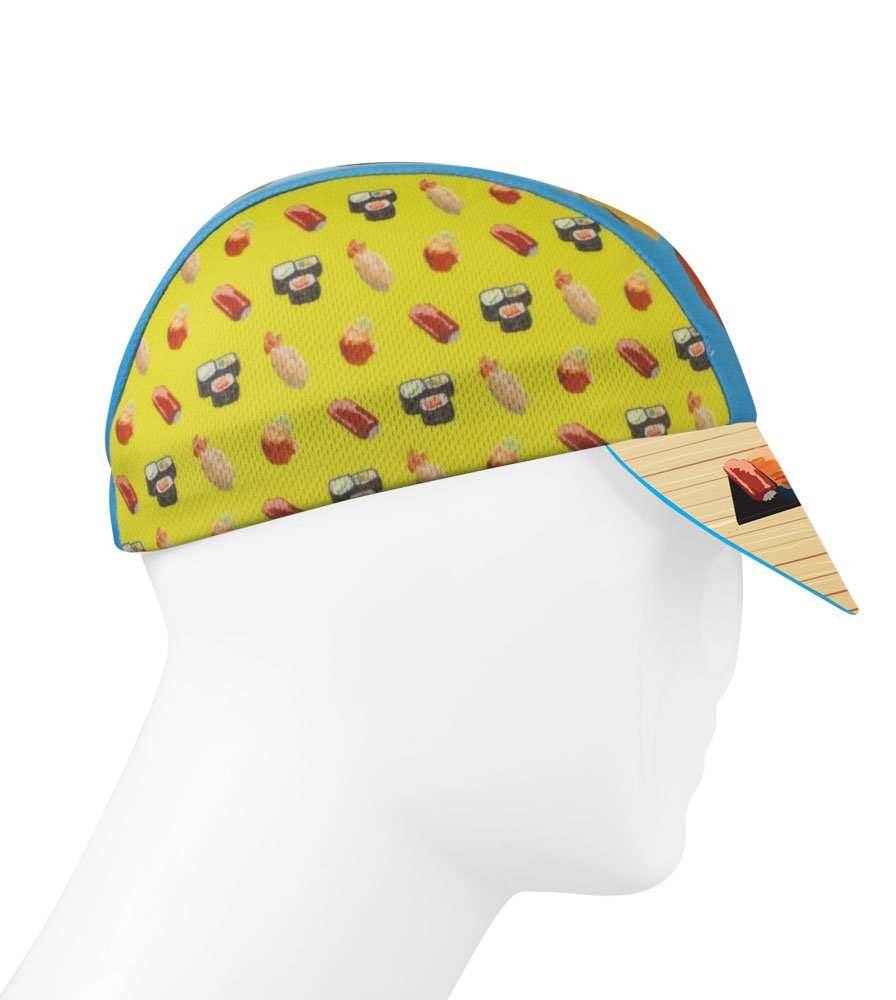 Sushi Roll Cycling Cap - Made in the USA