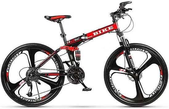 Novokart-Plegable Deportes/Bicicleta de montaña 24/26 Pulgadas 3 ...