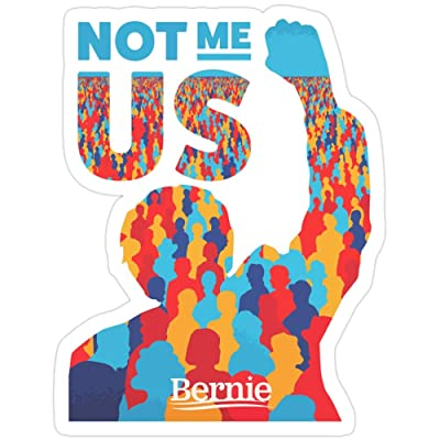 MrMint Not Me US Bernie Stickers (3 Pcs/Pack): Kitchen & Dining
