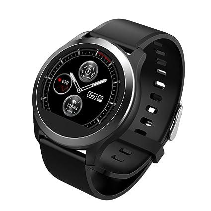 Evin Reloj inteligente, impermeable E07 Bluetooth 4.0 pulsera inteligente Pantalla OLED pulsera inteligente con podómetro