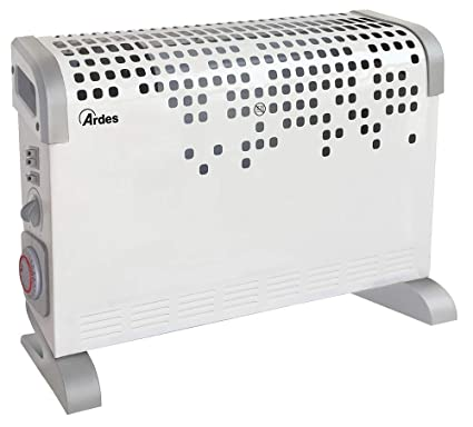 Ardes arc03t ar4 °C03t termoconvector Turbine Time Turbo Ventilado con Termostato, temporizador de 24