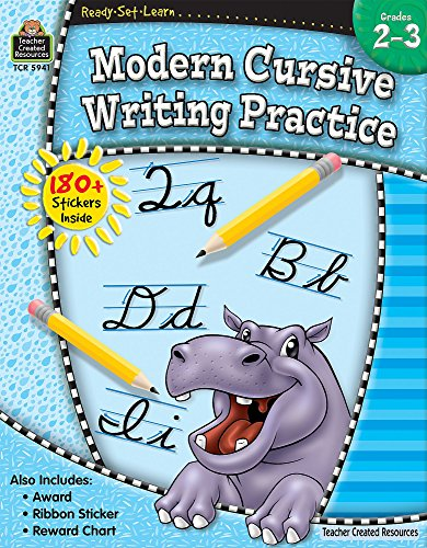 Ready-Set-Learn: Modern Cursive Writing Practice Grd 2-3