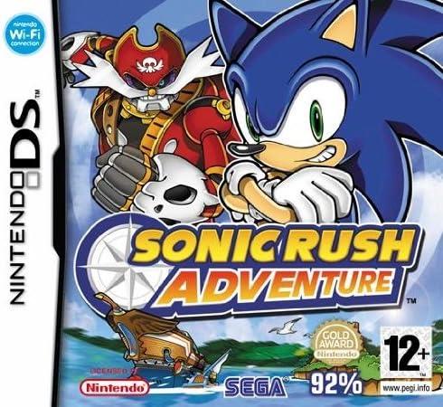 SEGA Sonic Rush Adventure - Juego (Nintendo DS, Plataforma, E12 + ...
