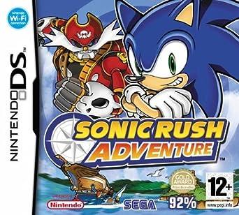 Sega Sonic Rush Adventure Juego Nintendo Ds Plataforma E12