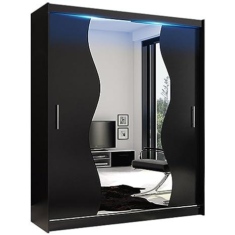 YE Perfect Choice - Moderno guardaroba con specchio per camera da ...
