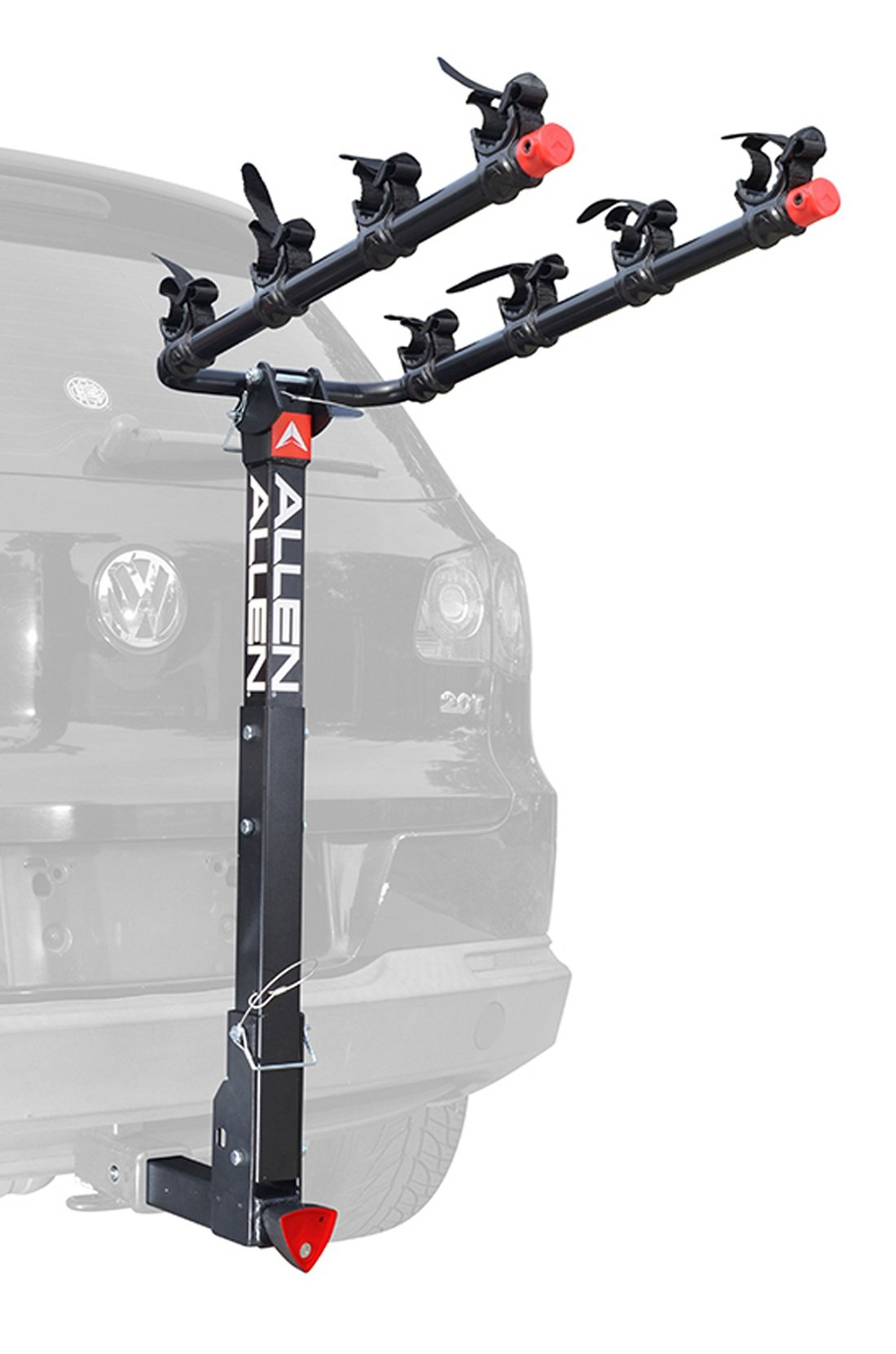 Allen Sports Deluxe Locking Quick Release 4-Bike Carrier for 2'' Hitch