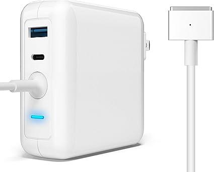 Amazon.com: Rytaki MacBook Charger Interior Negro cargador ...