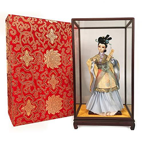 Shopps La Escultura de la Figura de la ópera China, compuesta de Elementos de la ópera China, está Hecha de Escultura de Yeso y se Utiliza principalmente para la decoración de la