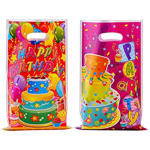 40 Pcs Party Favor Bags Birthday Return Goodie Bags for Candy