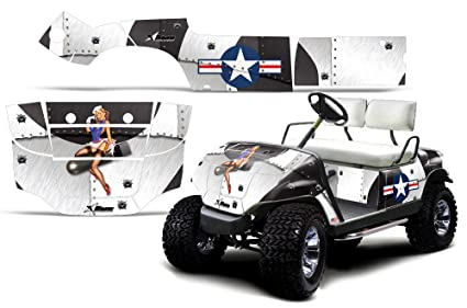 Amazon.com: 1995-2006 Yamaha Golf Cart AMRRACING ATV Graphics Decal on amazon garden carts, amazon scooters, amazon beach carts,