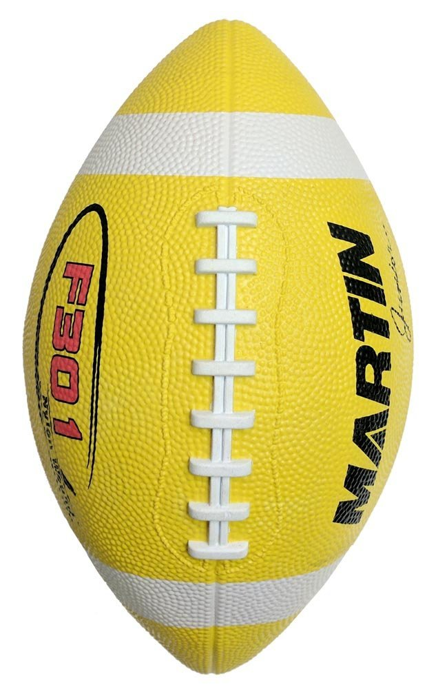 Martin Sports ballon de football en caoutchouc, Junior, Jaune