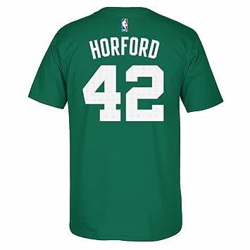 Adidas Al Horford Boston Celtics NBA Verde Nombre y número Jugador Equipo de Jersey Color Camiseta de Manga Corta para Hombre, S, Verde: Amazon.es: Deportes ...