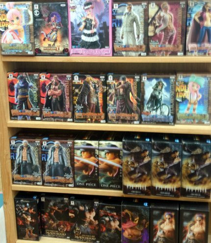 Figures together 30 bodies Piece Dragon Ball K Kuroko's Basketball march of giants such as PriPara