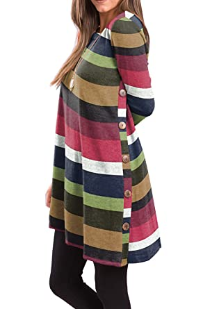 Women's Long Sleeve Tunic Dress