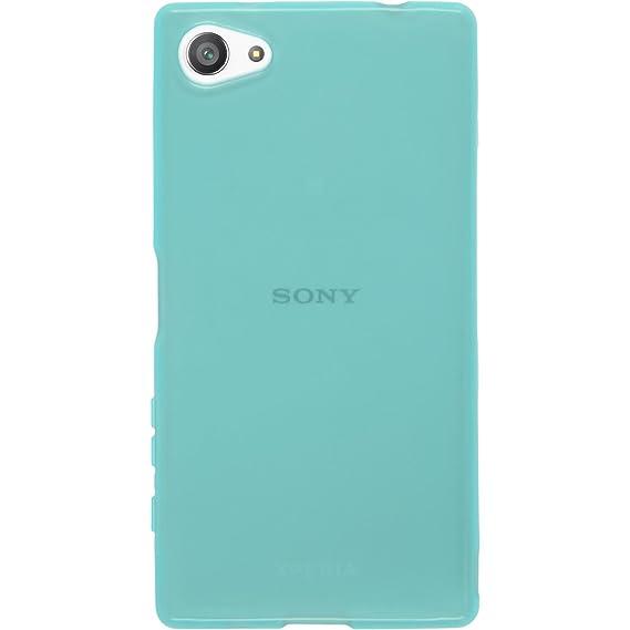 Amazon.com: Funda de silicona para Sony Xperia Z5 Compact ...