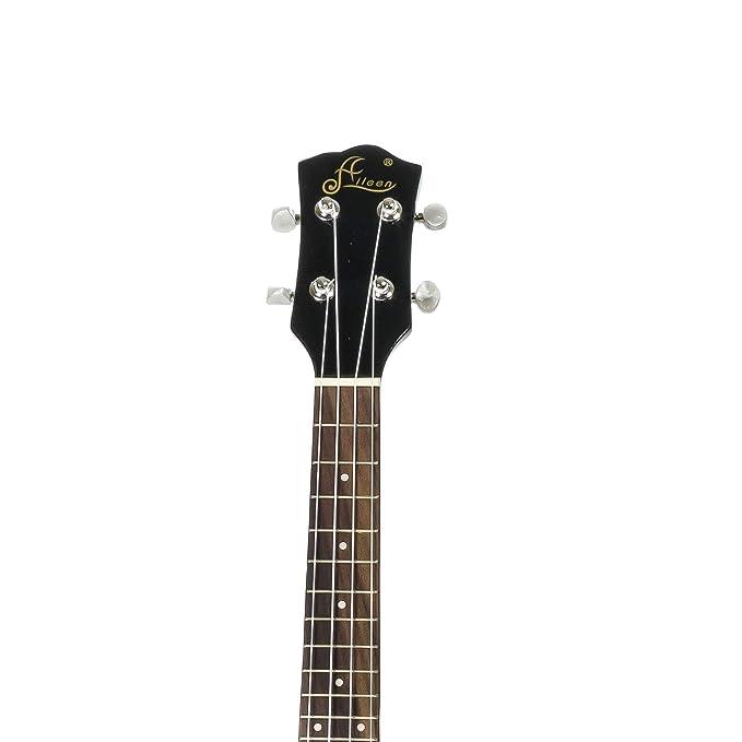 Aileen SG Eléctrica estilo Ukelele, Rojo: Amazon.es: Instrumentos musicales