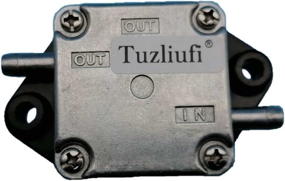 Tuzliufi Replace Fuel Pump Assy Suzuki Outboard Engine DF 4HP 5HP 6HP Yamaha 4HP 5HP 4-Stroke 2 Cylinders 15100-91J02 15100-91J01 15100-91J00 67D-24410-03-00 67D-24410-00 67D-24410-01-00 DF4 DF6 Z106