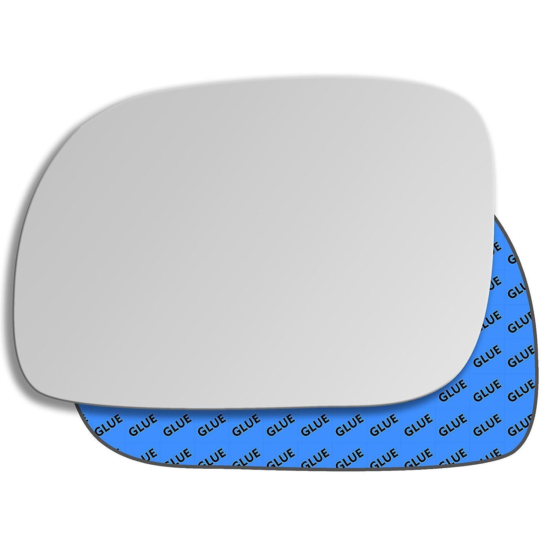 hightechpl 10ls Ersatz Autospiegel Au/ßenspiegel Spiegel Glas Links Fahrerseite