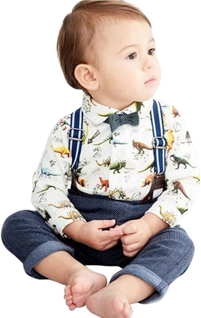 DIGOOD for 0-4 Years Old,Toddler Baby Boys Girls Hoodie+Pants,Children 2Pcs Fresh Outfits Summer Clothes Sets