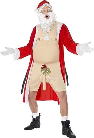 Disfraz Carnaval Disfraz navideño Papá Noel Navidad Hot Smiffys ...