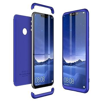 CE-Link Funda Huawei P Smart+ / Huawei P Smart Plus Carcasa Fundas para Huawei P Smart+ / Huawei P Smart Plus 360 Grados 3 en 1 Desmontable ...