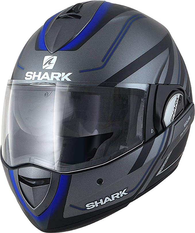 Motorcycle helmets EVOLINE 3 TIXER MAT KUS Shark