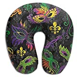 Scorpio Mardi Gras Comfortable Travel Pillow Spa U SHAPE For Airplane Travel Teen