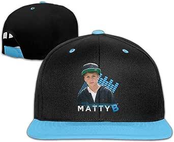 IGiGT Sombreros Matty B Raps para niños y niñas Hip Hop Gorras de ...