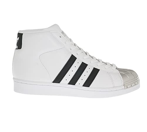 wholesale dealer ff688 40e46 adidas, Donna, PRO Model Metal Toe W, Pelle, Sneakers, Bianco  Amazon.it   Scarpe e borse