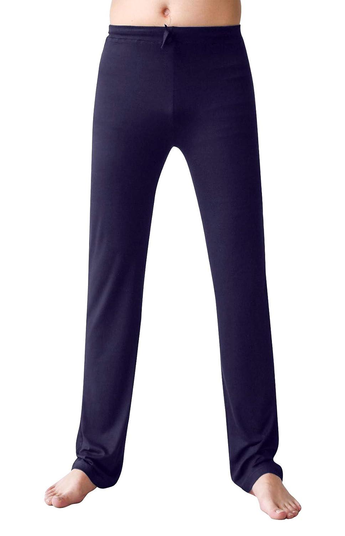 AIEOE Men's Soft Loose Knit Yoga Pants Modal Long Casual Trousers Lounge Pants