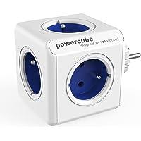 Allocacoc PowerCube Original Type E Interior 5AC Outlet(s) Azul Base múltiple - Bases múltiples (Interior, 5 Salidas AC…