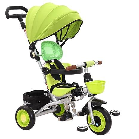 Cochecito De Bebé Cochecito De Bebé Triciclo De Niños 4 En 1 Cochecito De Mano con