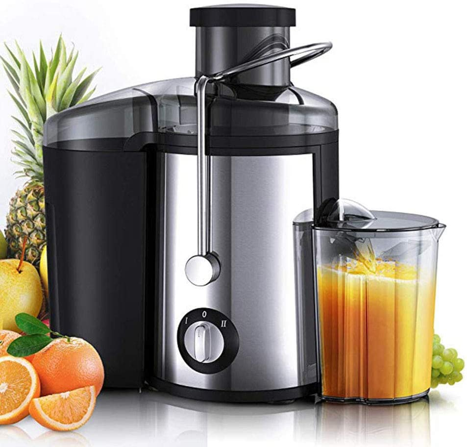 Juicer Electric Extractor Whole Fruit Citrus Vegetables, Powerful Dual Speed Settings for Easy Juice Extracting – Large 1L