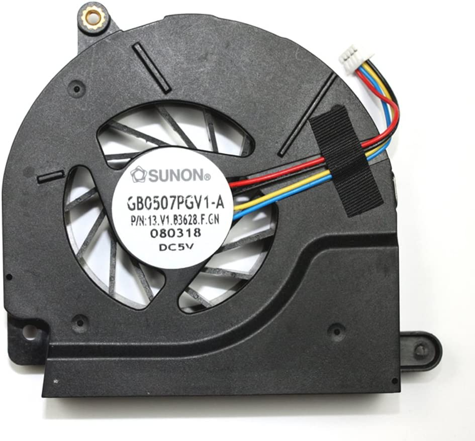Power4Laptops Replacement Laptop Fan for Intel Quad Core Processors for HP 495080-001, HP EliteBook 8530W