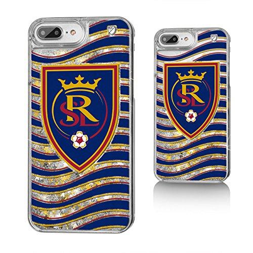 Keyscaper MLS Real Salt Lake Wave Glitter Case for iPhone 8 Plus/7 Plus/6 Plus, Clear by Keyscaper