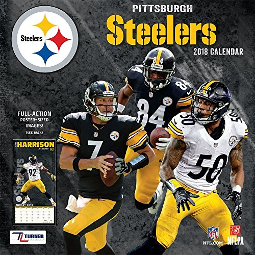 Pittsburgh Steelers 2018 Calendar cover