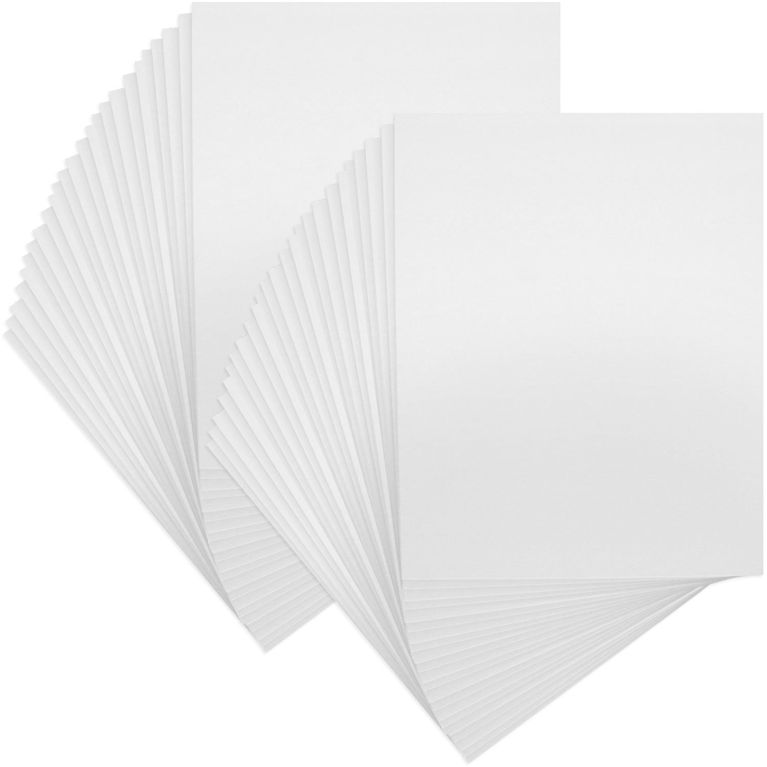 US Art Supply Art Mats Brand Premier Acid-Free 8x10 Picture Mat Matte Backerboards for Framing. Includes a Pack of 50 Backerboards by US Art Supply