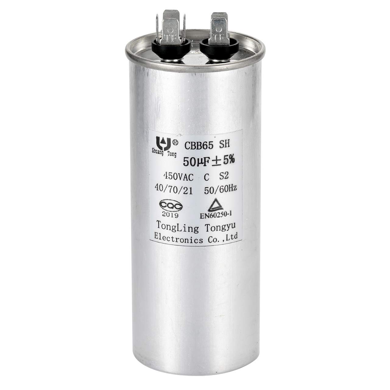 STUD TYPE WITH COVER 450V RUN CAPACITOR 5 MFD MOTOR RUNNING CAPACITOR