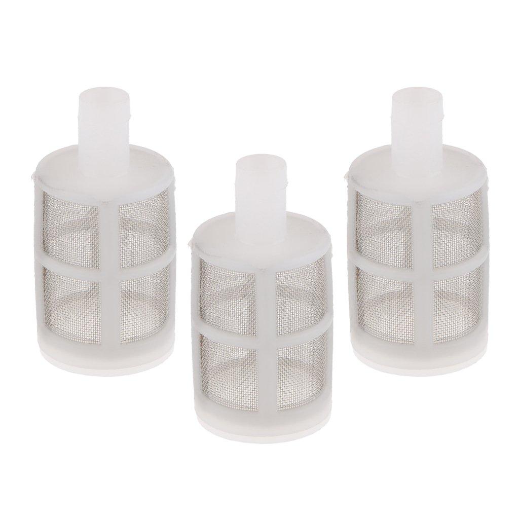 Sharplace 3piezas Filtro de Bomba de Agua de Diafragma Adecuado para 385, 550 Bomba de Agua