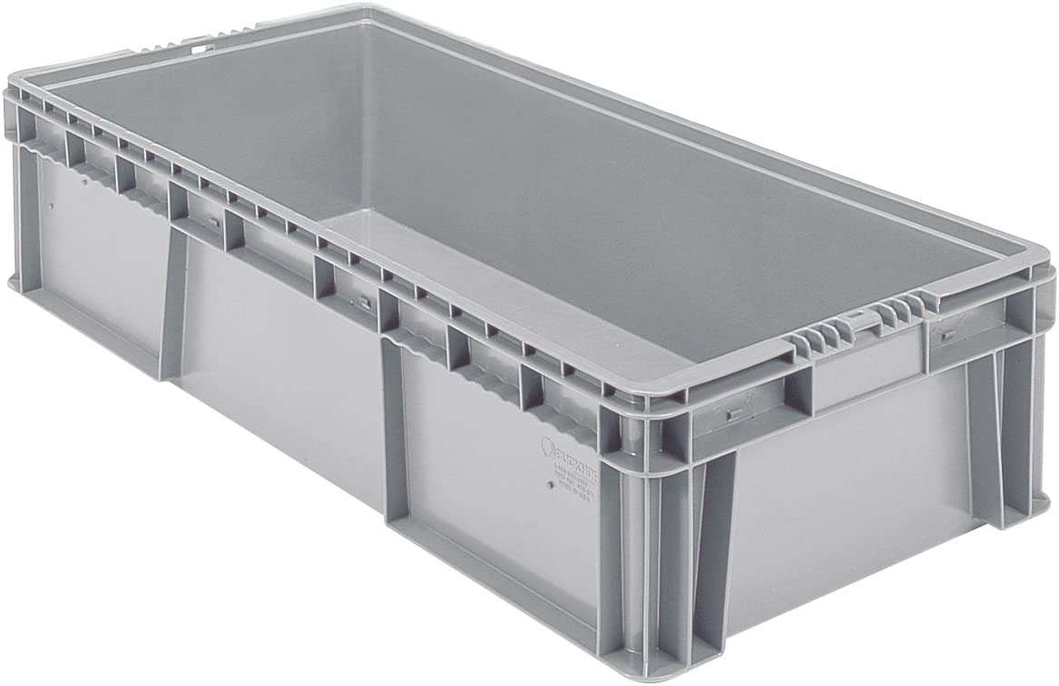 Buckhorn SW3215080201000 Plastic Straight Wall Storage Container Tote - 32