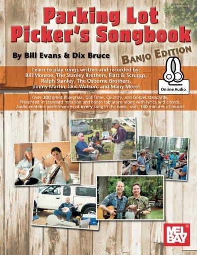 Parking Lot Picker's Songbook - Banjo