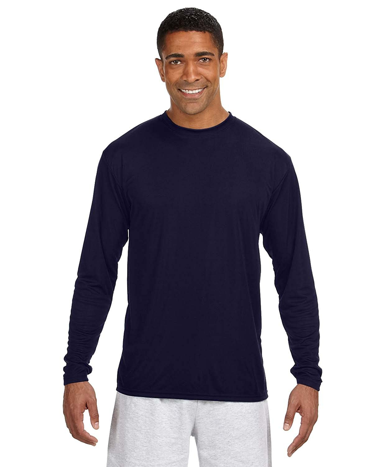 A4 N3165 Adult Cooling Performance Long Sleeve Tee
