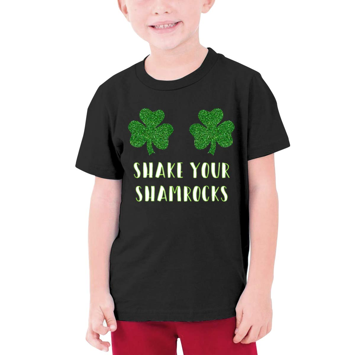 Negi Shake Your Shamrocks Boy Short-Sleeved Shirts