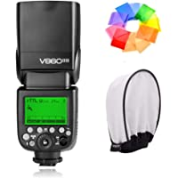 Godox Ving V860IIN 2.4G GN60 I-TTL HSS 1/8000s Li-ion Battery Camera Flash Speedlite 1.5S Recycle Time 650 Ful Power…