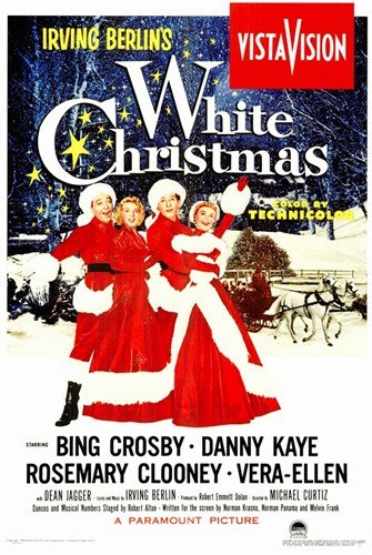 White Christmas - Movie Poster - 11 x 17