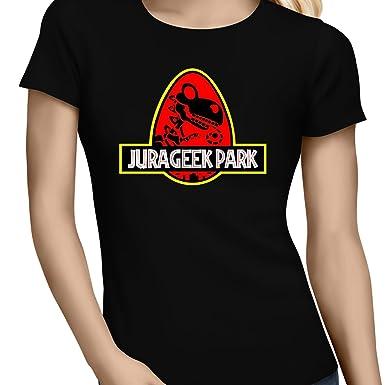 Okiwoki T Shirts Femmes Yoshi Jurassic Park Parodique Yoshi Et