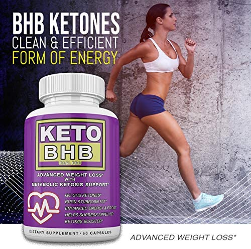 Keto BHB and ACV Real PRO - Organic Apple Cider Vinegar with Mother Capsules - Keto Advanced Weight Loss Supplement - 1 Month Combo 4