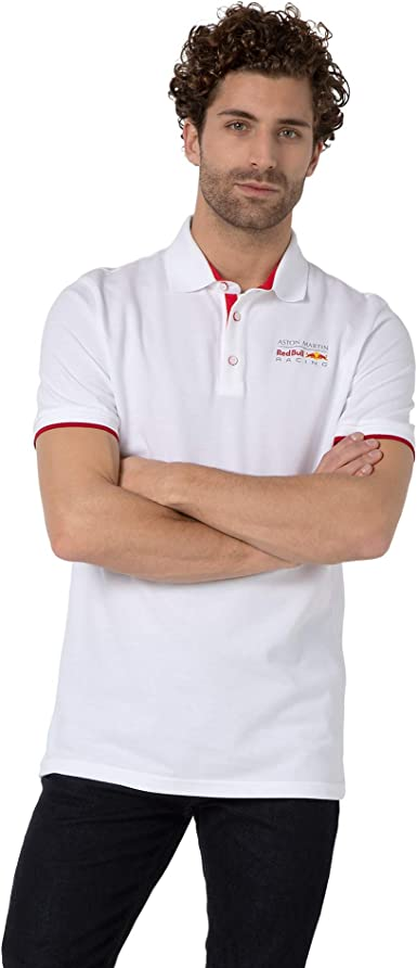 Red Bull Racing Classic Camisa Polo, Hombres - Official Merchandise