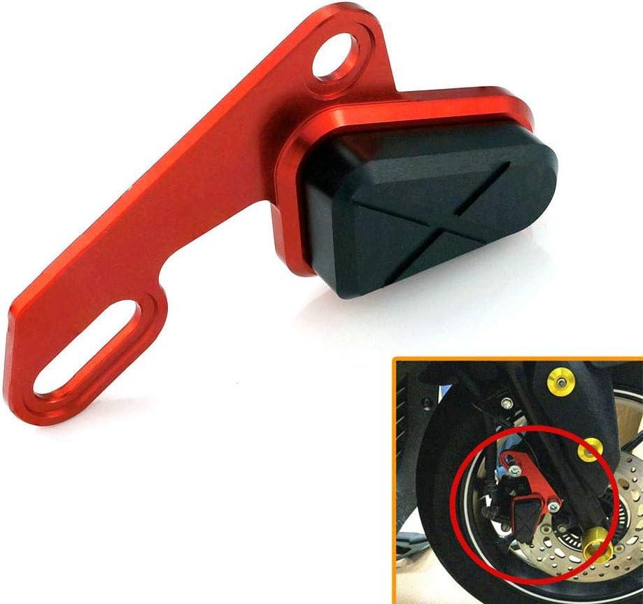 CHUDAN Rahmen Sliders Anti Crash Protector Sturzpads Sturzschutz Bremspumpenschutz Dekorative Abdeckung f/ür Yamaha Xmax 300 125 250 400